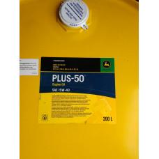 Моторна олива John Deere 15w-40 PLUS-50 YU50000-200 / YU50000-050