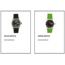 Годинник чорний MCF460402025, Годинник зелений MCF460400526